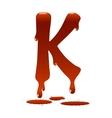 Letter k vector