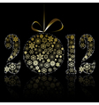 New year 2012 symbol vector