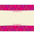Valentine background with hearts vector