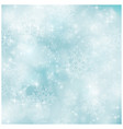 Soft and blurry pastel blue winter christmas patt vector
