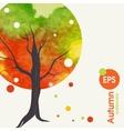 Creative autumn background vector