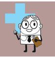 Doctor doodle vector