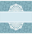 Decorative christmas background with snowflakes vector