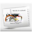 School supplies for you design vector