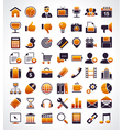 Simple universal web icons vector