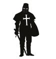 Crusader warriors theme vector