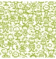 Children playing seamless pattern background vector