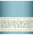 Ornamental pattern template vector