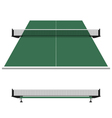 Table tennis ping pong net vector