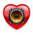 Favorite music icon vector
