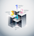 Abstract podium vector