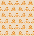 Retro flower seamless pattern vector