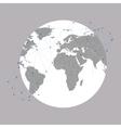 World globe  background for communication vector