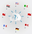 Countries language quest languages of the world vector