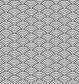 China style seamless pattern seashell vector