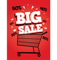 Big sale poster vector