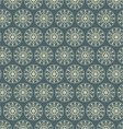 Retro circle and star pattern on pastel color vector
