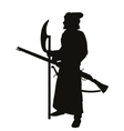 Medieval shooter warriors theme vector