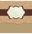 Vintage polka dot design eps 8 vector