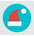 Santa hats icon vector