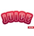 Label for pomegranate juice bright premium design vector