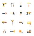 Home repair tools icon flat vector
