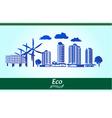 Environmental city vector