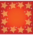Festive background with stars vector