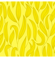 Gold floral seamless vector