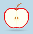 Apple isolated on background vector