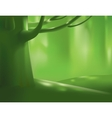 Deep forest tree vector