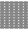 Seamless hexagons pattern vector