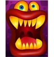 Monster cartoon vector