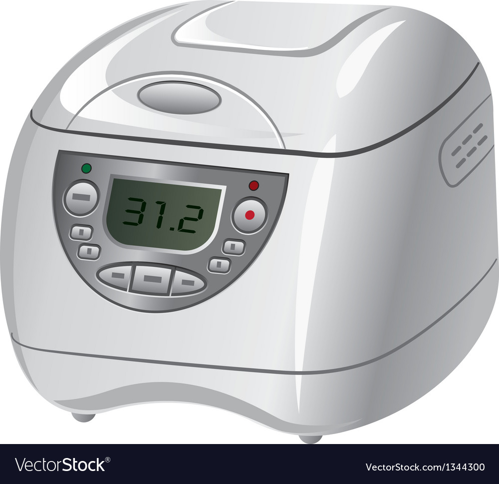 Electric cooker vector | Price: 3 Credit (USD $3)