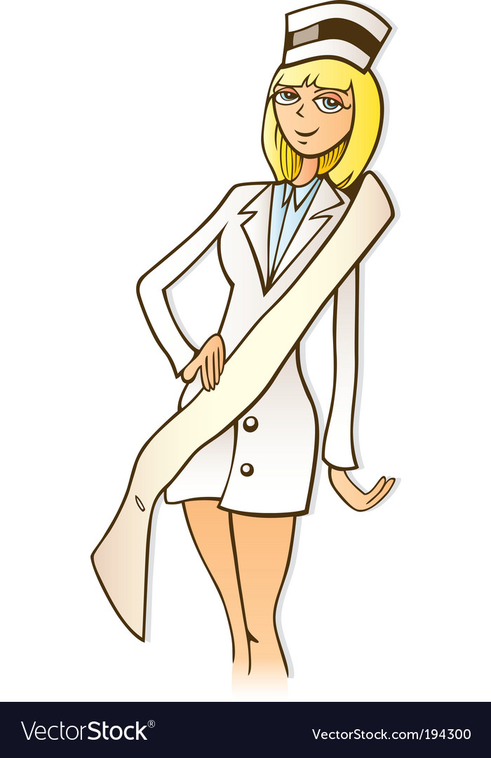 Miss nurse vector | Price: 3 Credit (USD $3)
