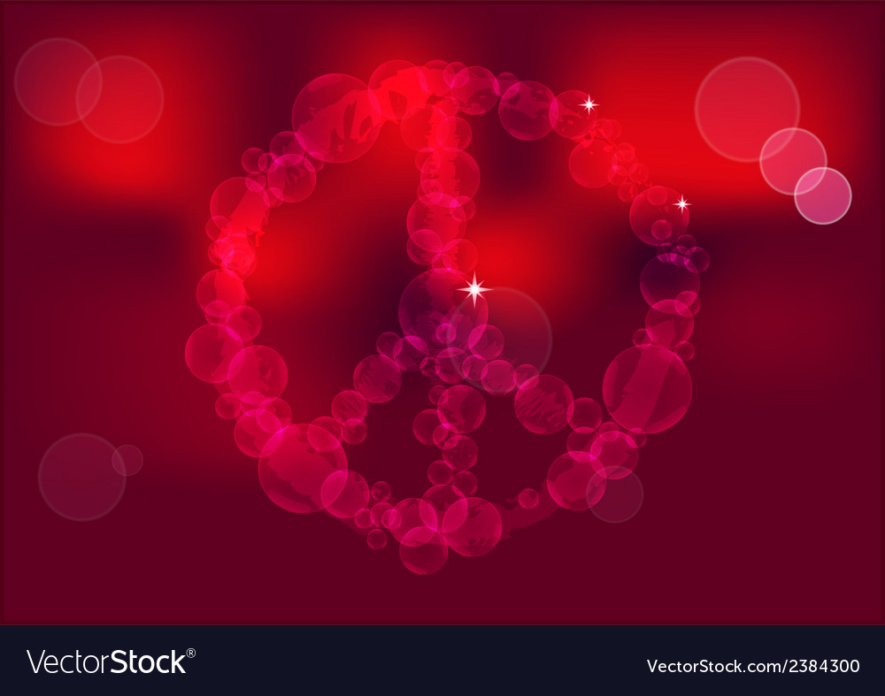 Peace sign background vector   Price: 1 Credit (USD $1)