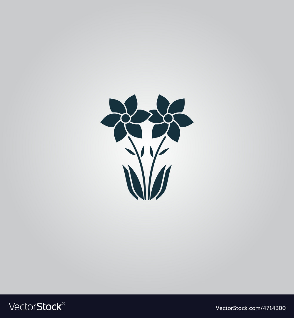Spring flowers growing vector   Price: 1 Credit (USD $1)