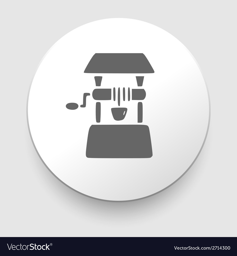 Well icon vector | Price: 1 Credit (USD $1)