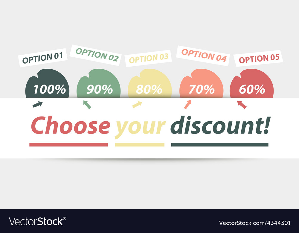 Choose your discount vector | Price: 1 Credit (USD $1)