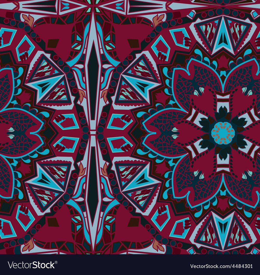 Ethnic tribal fashion abstract indian pattern vector | Price: 1 Credit (USD $1)