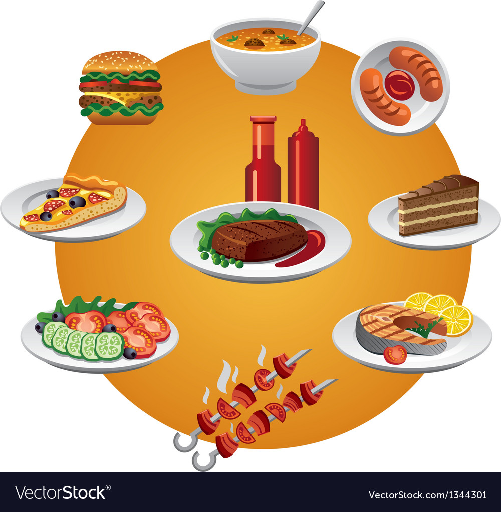 Food icon vector | Price: 3 Credit (USD $3)