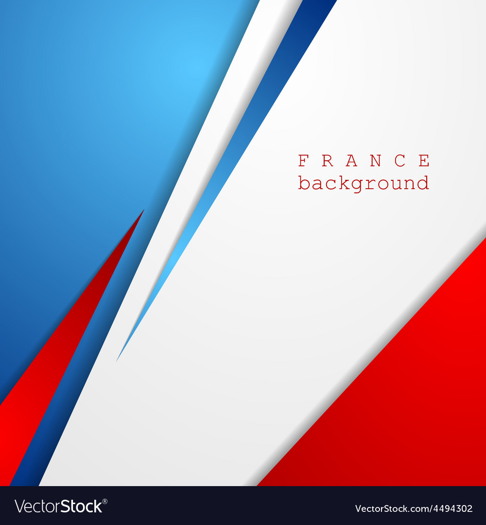 Modern bright abstract background french colors vector   Price: 1 Credit (USD $1)