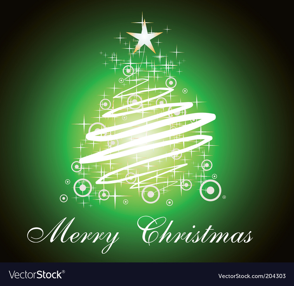 Merry christmas background vector | Price: 3 Credit (USD $3)