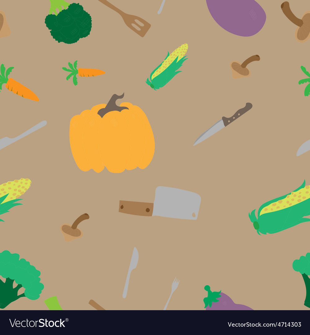 Texture with vegetables vector | Price: 1 Credit (USD $1)