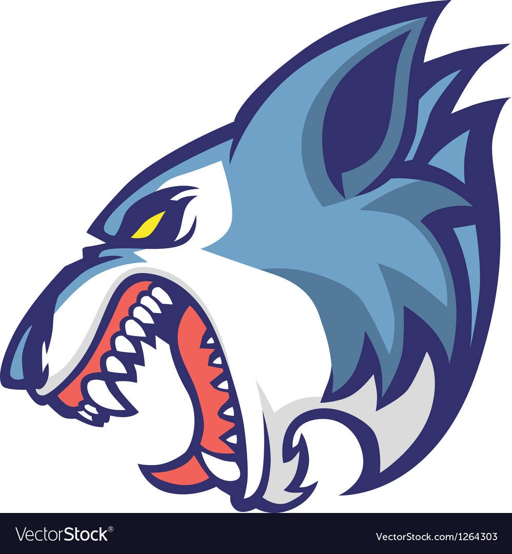 Wolf head vector | Price: 3 Credit (USD $3)