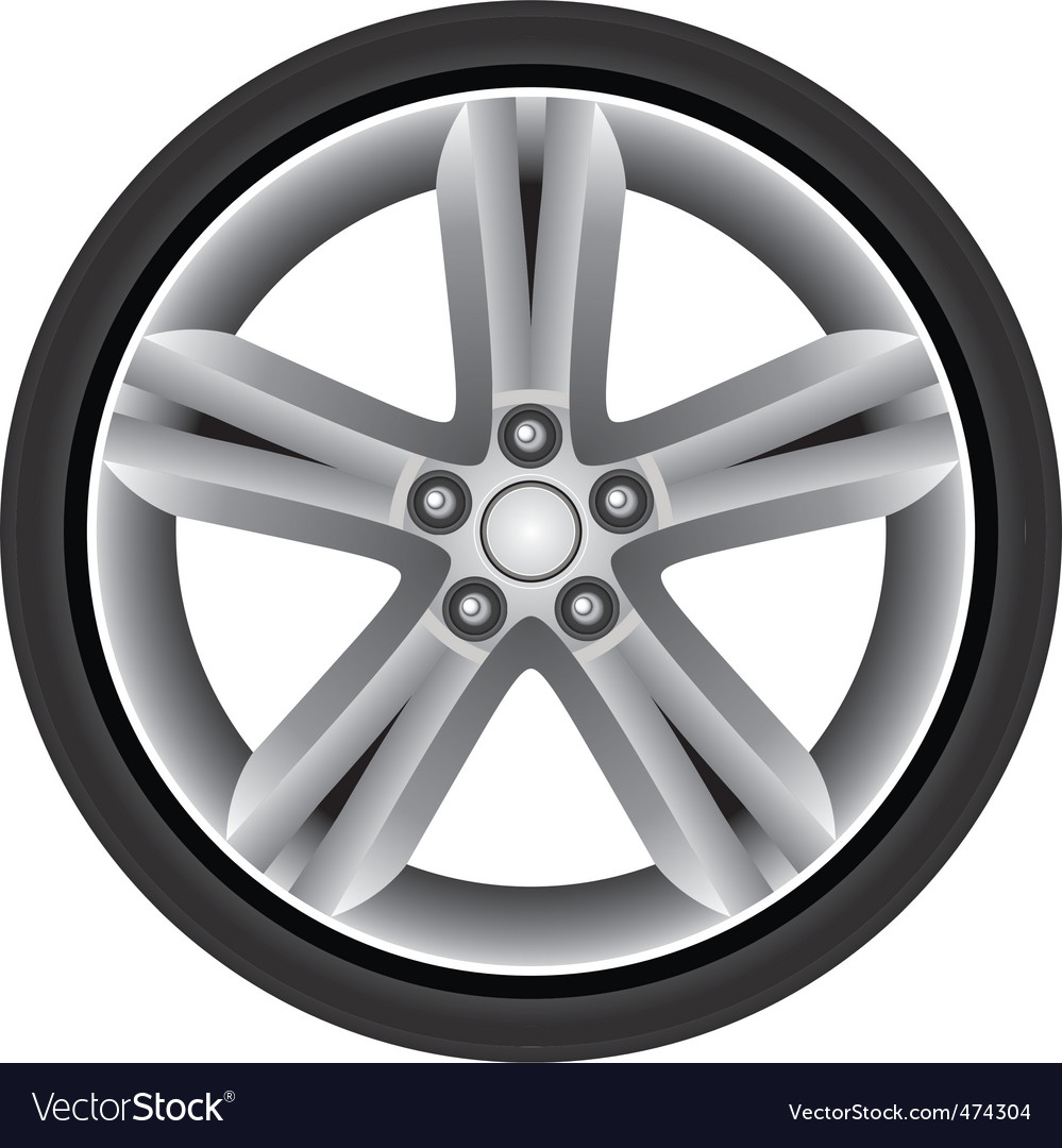 Aluminum rim vector | Price: 1 Credit (USD $1)