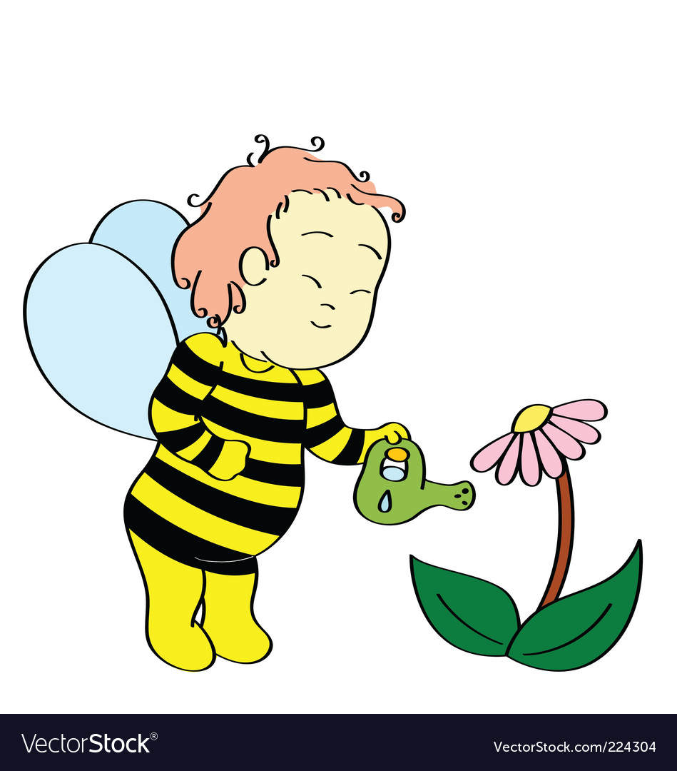 Bee boy vector | Price: 1 Credit (USD $1)