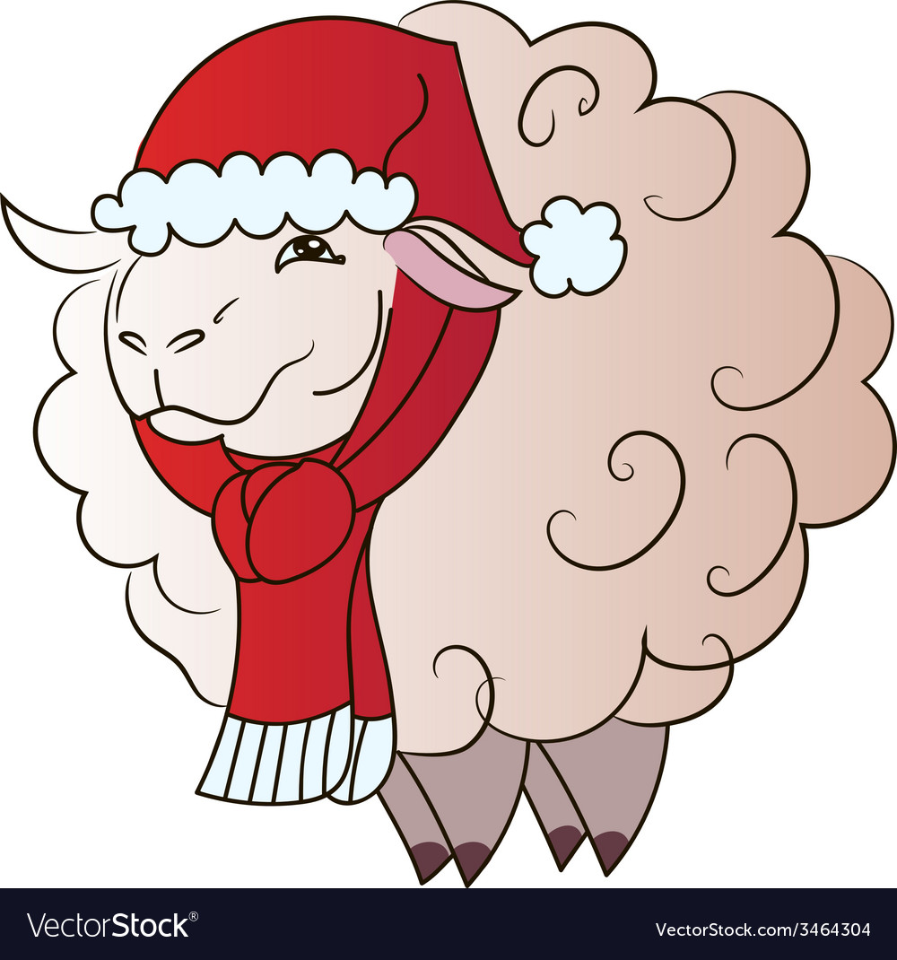 Sheep vector | Price: 1 Credit (USD $1)