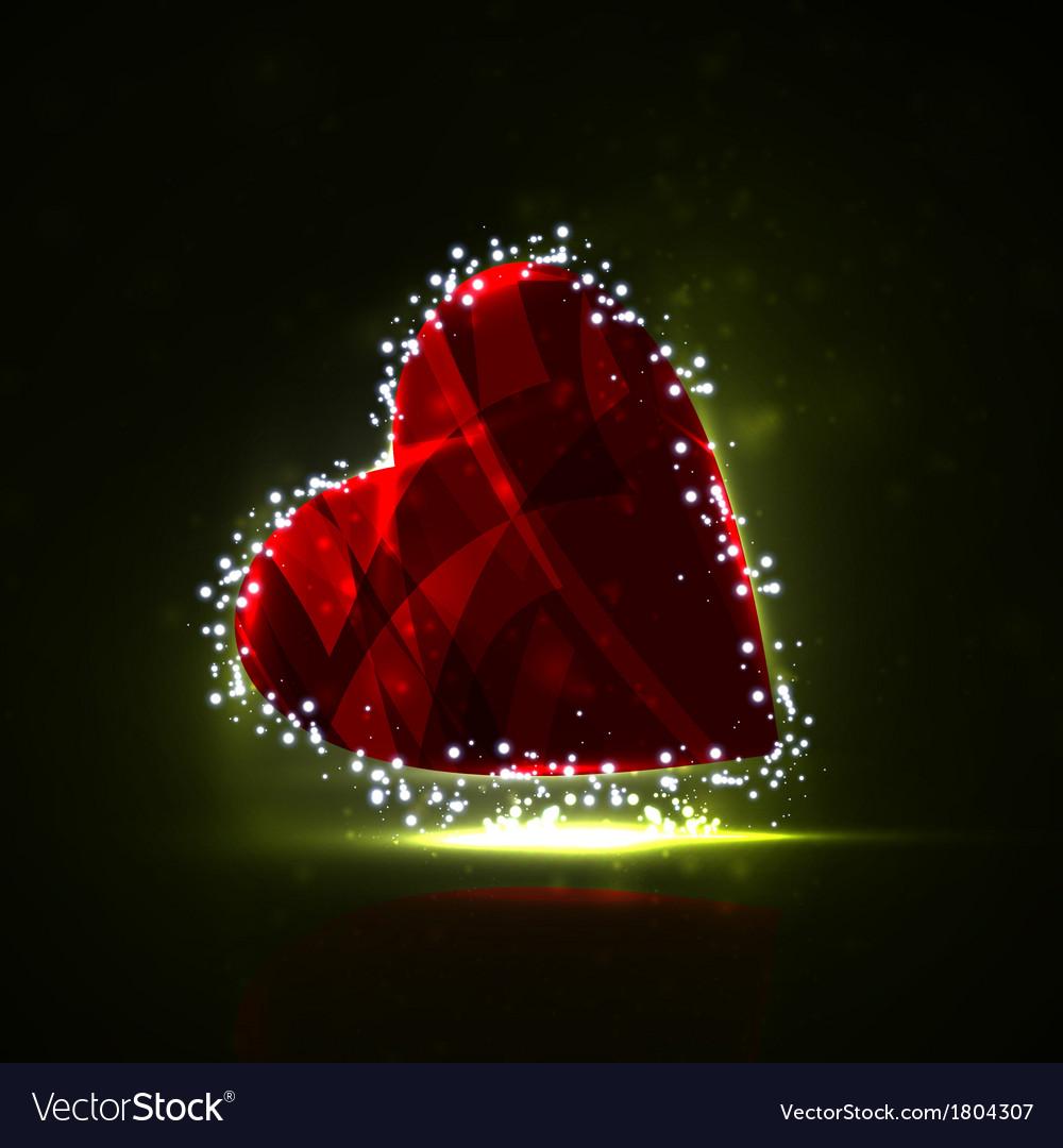 Futuristic heart vector   Price: 1 Credit (USD $1)