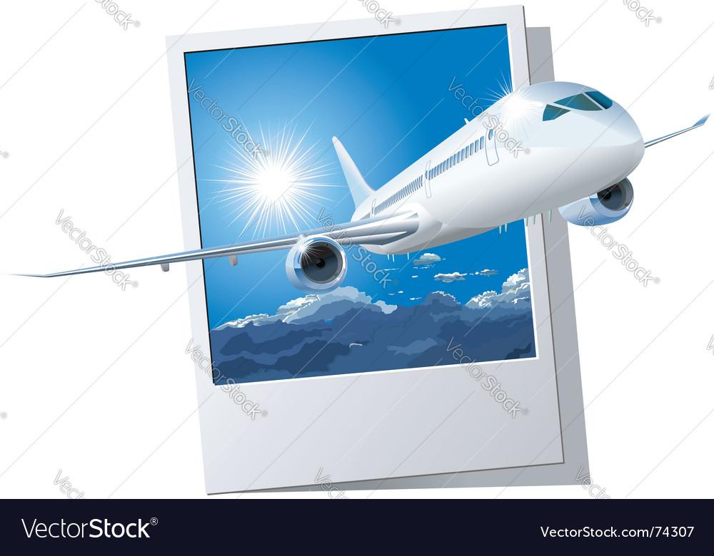 Passenger dreamliner vector | Price: 3 Credit (USD $3)